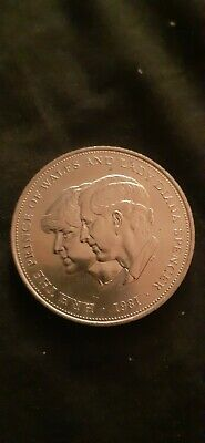 1981 Silver Proof Coin HRH The Prince Of Wales And Lady Diana Spencer • 4.50£