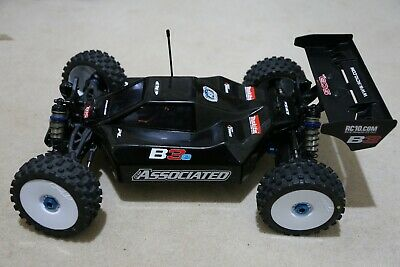 Team Associated Rc8 B3.1e 8th Scale Electric Buggy + Plus Extras Built Not Run • 56£
