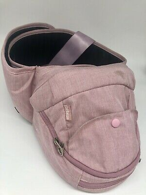 Bebear Baby Carrier Hip Seat Pink Great Conditon • 10£