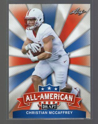 $1.45 • Buy 2017 Leaf Draft All-American #AA-04 Christian McCaffrey