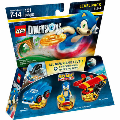 AU89 • Buy LEGO Dimensions Sonic The Hedgehog Level Pack 71244 Brand New