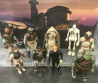 $ CDN28.17 • Buy 9 Vintage Star Wars Figures - Jabba's Palace (With Weapons & Accessories, 1983)