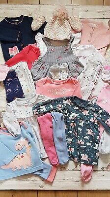 0-3 Months Girls Outfit Bundle • 1.20£