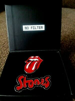 £70.80 • Buy  2019 ROLLING STONES NO FILTER METAL PINS With Stud Backs .LIMITED EDITION