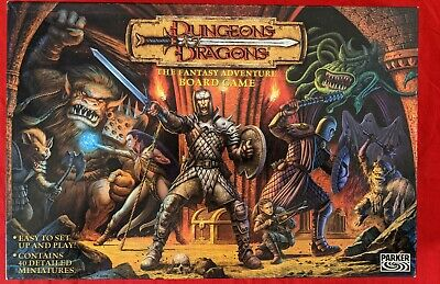 AU22.54 • Buy Dungeons & Dragons Board Game Parker D&D (2003) Complete In VGC