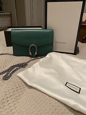 AU950 • Buy Gucci Dionysus Leather Mini Bag With Chain