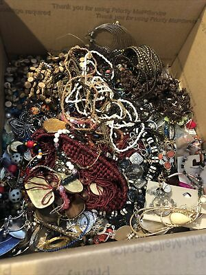$ CDN284.02 • Buy HUGE Vintage JUNK DRAWER Estate Find Jewelry Lot UNSEARCHED 20lbs Lot 4