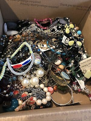 $ CDN284.02 • Buy HUGE Vintage JUNK DRAWER Estate Find Jewelry Lot UNSEARCHED 19lbs+ Lot 5
