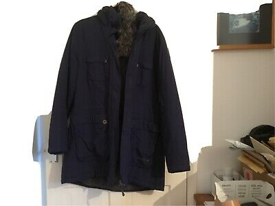 Peter Storm Very Warm Hooded Padded Coat Size 18 Navy • 25£