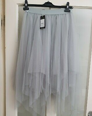 New Look Net Tattered Skirt Brand New Unworn Still With Tags • 1.99£