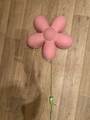 Ikea Pink Flower Wall Light • 3£