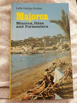 Letts Guide To Majorca, Menorca, Ibiza, And Formentera Letts Guides 1972 Vintage • 1.99£
