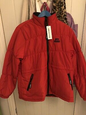 Iets Frans Urban Outfitters Exclusive Red Puffer Coat Jacket BNWT Size M • 30£