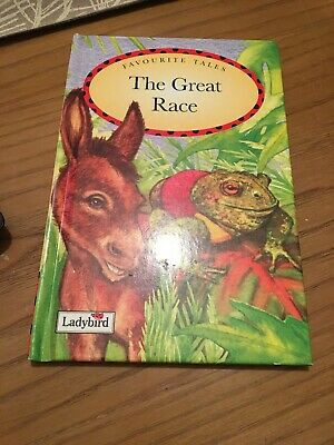Ladybird Book ,favourite Tales ,the Great Race • 10£