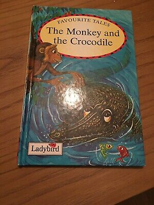 Ladybird Book Favourite Tales ,the Monkey And The Crocodile • 20£
