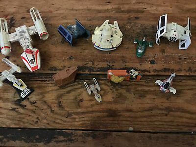 $ CDN1.25 • Buy Vintage Star Wars Micro Collection Die-Cast/Plastic Lot Of 10