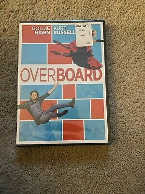 £3.54 • Buy Overboard DVD KURT RUSSELL GOLDIE HAWN NEW