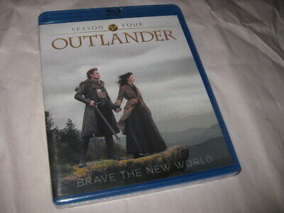 AU18.26 • Buy OUTLANDER SEASON FOUR Sam Heughan Blu-ray Sealed NEW