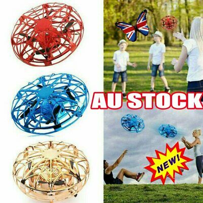 AU18.59 • Buy 360 Mini Drone Smart UFO Aircraft For Kids Flying Toy RC Hand Control Xmas GifXA