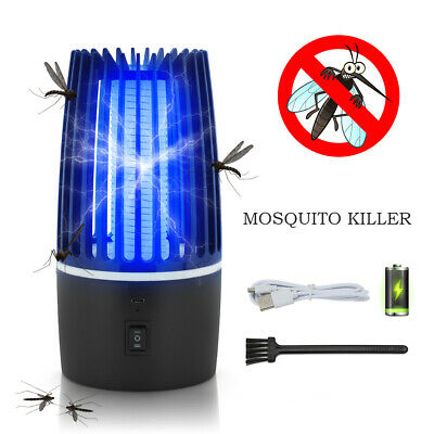 £15.69 • Buy Electric UV Mosquito Killer Lamp Fly Bug Indoor Insect Zapper Pest Catcher