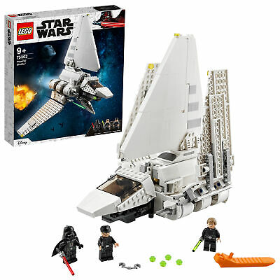 75302 LEGO Star Wars Darth Vaders Imperial Shuttle Ship Set 660 Pieces Age 9+ • 71.99£