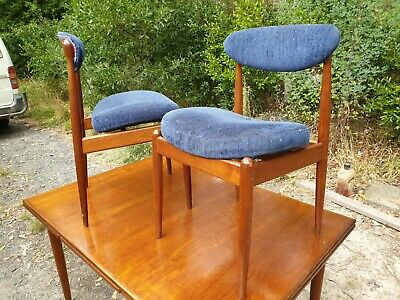 AU405 • Buy Parker Extendable Table Dining Table And 2 Spade Chairs Mid Century