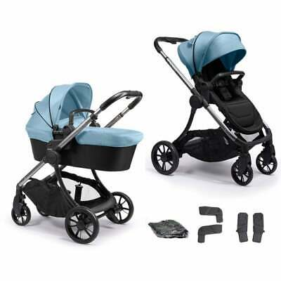 **BNIB ICandy LIME Moonrock & Glacier Travel System - Pushchair & Carrycot** • 409.95£