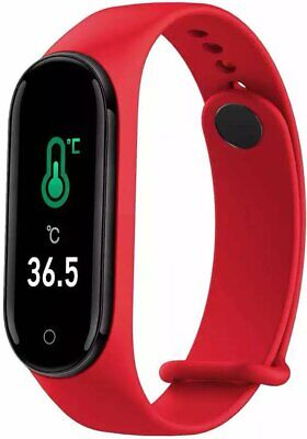 $ CDN36.77 • Buy M4 Pro Android IOS SmartwatchSportuhr Armband Fitness Tracker Rot Watch