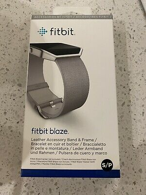 AU35 • Buy Offical Fitbit Blaze Leather Band Genuine  - Brand New Sealed