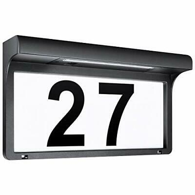 Solar House Number Plaques Illuminated Door Numbers Signs Modern Custom • 45.99£
