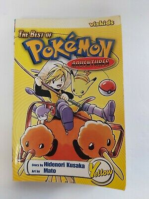 The Best Of Pokemon Adventures Yellow Paperback Book Pikachu Elite Four  • 5.66£