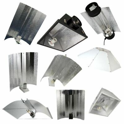 £22.50 • Buy Hydroponics Reflectors Euro Wing Cool Air Cooled Parabolic Adjustable Light Kit