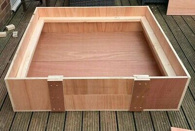 "Whelping Box - 48""x48""x12"" With Rails + Free Delivery • 130£"