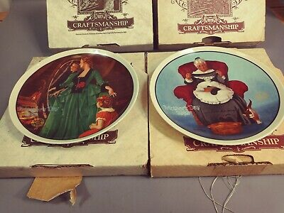 $ CDN24.93 • Buy L👀K Edwin Knowles Norman Rockwell Collector Plate Mother's Day 1984 & 1985