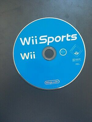 Nintendo Wii Sports Game Disc Only • 4£