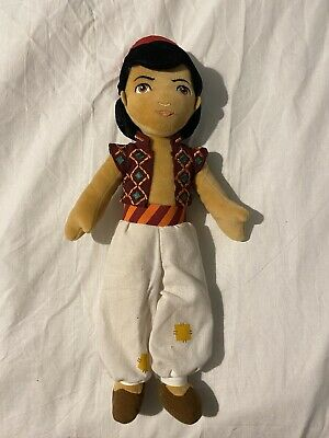 Walt Disney 15  Aladdin Plush Doll Soft Toy  Theatrical Release • 3£