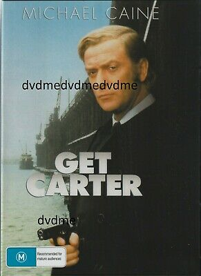 Get Carter DVD Michael Caine Brand New And Sealed Plays Worldwide • 7.74£