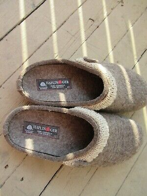 Haflinger Size 40 Wool Slipper/shoes, Gently Used • 46.51£