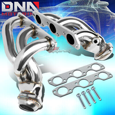$110.88 • Buy For 99-04 Ford Mustang 3.8/3.9l V6 T-304 Stainless Steel Header/exhaust/manifold