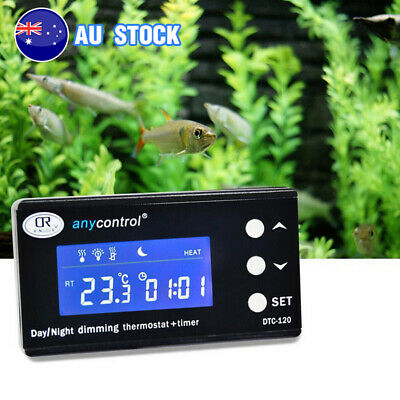 AU64.50 • Buy Dimming Reptile Digital Temperature Controller Day & Night PID Thermostat Timmer