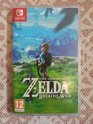 AU7.20 • Buy BOX ONLY The Legend Of Zelda Breath Of The Wild Nintendo Switch Game