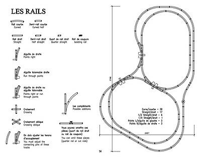 £5.50 • Buy 56 HORNBY O Track Layouts – Sent In PDF Format By Email. 56 Réseaux HORNBY