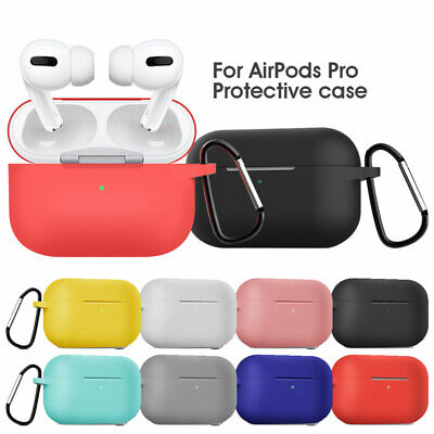$ CDN6.86 • Buy Apple Airpods Pro Case Shockproof Cover Silicone Earphones Soft Earbuds Shell
