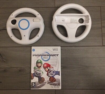 Mario Kart Wii With 2x Official Wheels • 13.06£