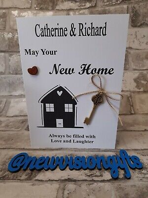 £1.99 • Buy New Home Personalised Card Personalise With Name/Names Only