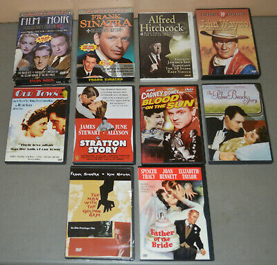 12 DVD Lot - Black & White Films From The 1940s & 1950s - Cagney, Sinatra • 18.08£
