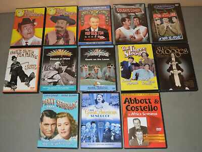 £17.72 • Buy 13 DVD Lot - Comedy Films From The 1940s & 1950s - Stooges, Red Skelton