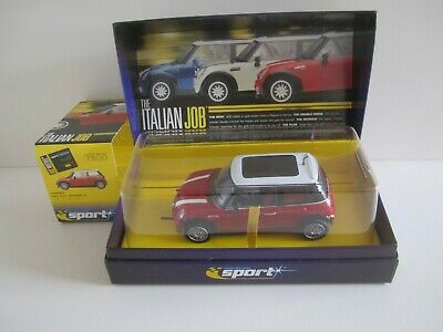 Scalextric C2538a Mini Cooper S  The Italian Job  Red Limited Edition Never Used • 29.99£