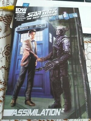 Idw. Star Trek/doctor Who #6. Oct/2012. V/fine Condition • 2£