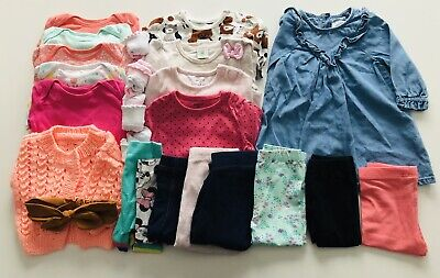 £9.50 • Buy Baby Girls Bundle Size 3-6 Months 21 Items Excellent Condition